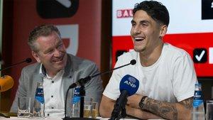 Reis se mostró ilusionado con su fichaje por el Barça