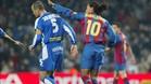 Ronaldinho se las tuvo más de una vez con Soldevilla