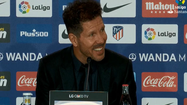 La rueda de prensa de Simeone tras el derbi madrileño (0-0)