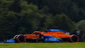 Sainz hizo la mejor clasificación de su carrera, tercero.
