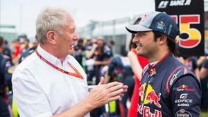 Sainz y Marko cuando el madrileño estaba en Toro Rosso