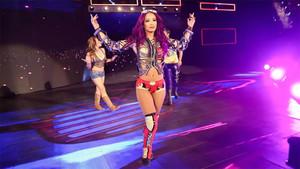 Sasha Banks, una de las rivales a batir en el Royal Rumble Match.