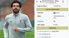 Según el portal, Salah estuvo en Getafe de 2009 a 2012