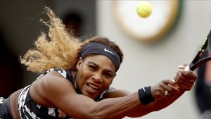 Serena Williams, durante un partido de la edición del año pasado