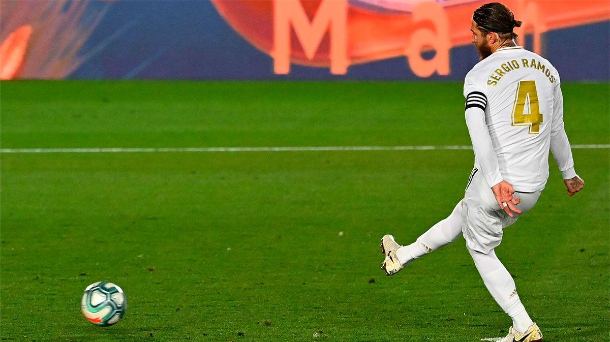 Sergio Ramos, 20 penaltis sin fallar