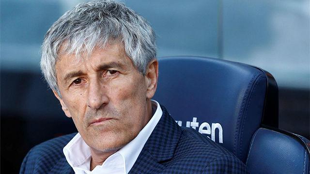 Setién valora la victoria ante el Getafe y habla de los pitos en el Camp Nou