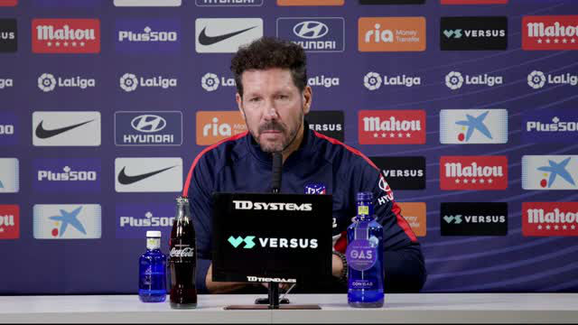 Simeone: Encontramos en Suárez lo que necesitamos: ilusión y ganas
