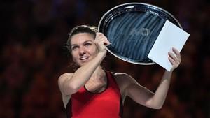 Simona Halep, subcampeona del Open de Australia