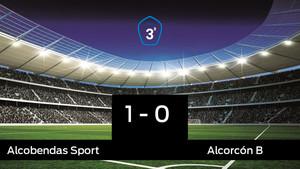 Tres puntos para el equipo local: Alcobendas Sport 1-0 Alcorcón B