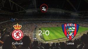 Tres puntos para el equipo local: Cultural Leonesa 2-0 Leioa