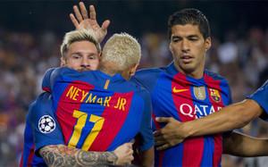 El tridente del FC Barcelona (Messi, Suárez y Neymar) es toda una garantía de goles y asistencias