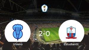 Triunfo del Viveiro CF por 2-0 frente al Estudiantil Vista Alegre