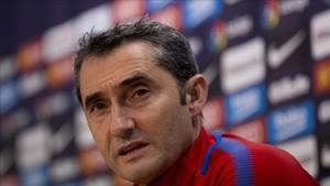 Valverde habló de Griezmann en la previa del partido ante el Betis