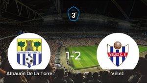 El Vélez se lleva tres puntos a casa tras vencer 1-2 al Alhaurín De La Torre