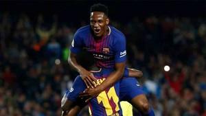 Yerry Mina deja el Barcelona