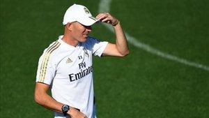 Zidane, prueba de fuego ante el Valladolid