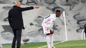 Zinedine Zidane se mostró feliz por la ajustada victoria del Real Madrid ante el Inter