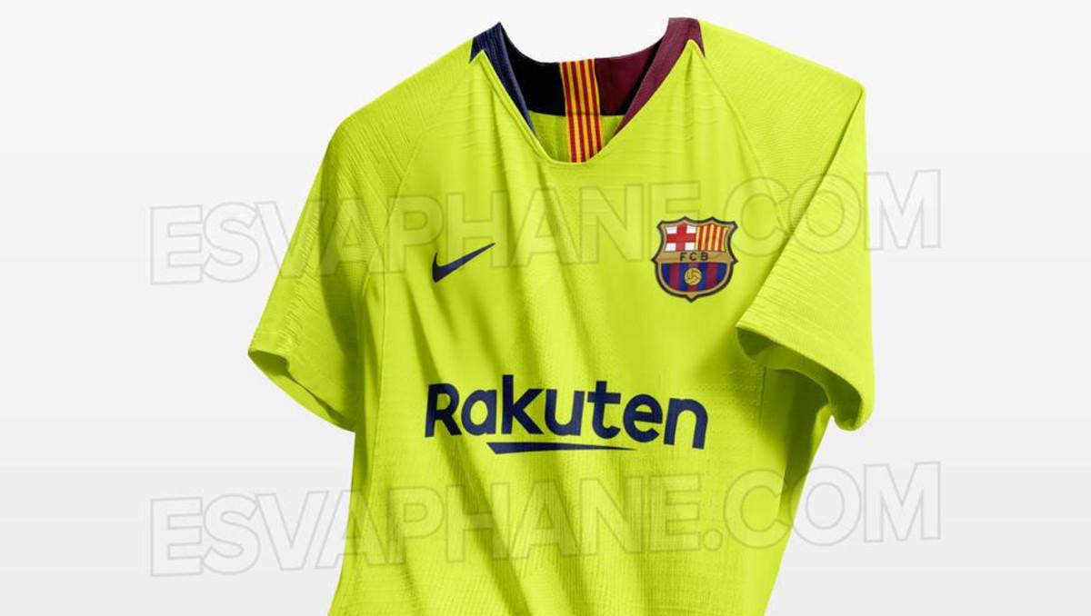 Filtradas las segundas camisetas de nueve equipos TOP para el curso 18 06d30aeb9b7