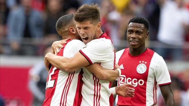 El Ajax golea al Heerenveen antes de visitar al PSV