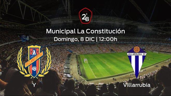 Jornada 16 de la Segunda División B: previa del duelo Yeclano Deportivo - Villarrubia