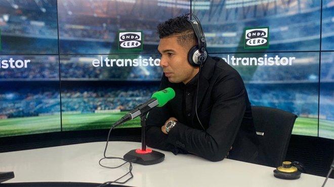 """Casemiro: """"Yo quería que Neymar viniese al Madrid; hablamos casi todos los días"""""""