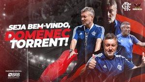 La afición del Flamengo espera mucho de Torrent