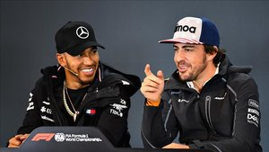 Alonso y Hamilton tendrán la llave del mercado de pilotos en 2021