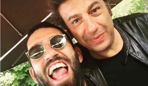 Arda Turan, con su representante Ahmet Bulut