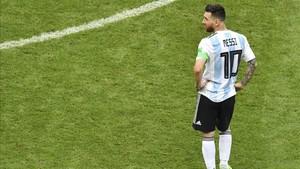 Argentina cayó eliminada en octavos de final del Mundial ante Francia