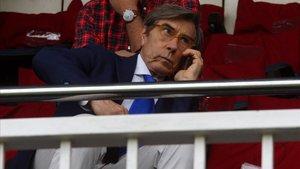 Ariedo Braida dejó la dirección deportiva del Barça