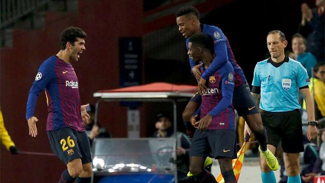 Así ha sido el resumen y los goles del intenso Barça-Tottenham