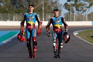 Augusto Fernández y Sam Lowes, tandem en Moto2