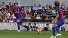Belletti y Mendieta, dos jugadores del Barça Legends que estarán este martes en el amistoso contra el Inter de Milán