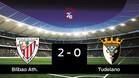 El Bilbao Athletic derrotó al Tudelano por 2-0