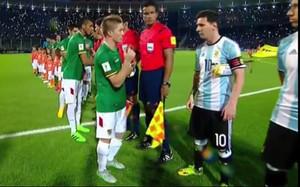 Chumacero y Messi no se saludaron
