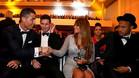 Cristiano Ronaldo, Messi y Antonella, en la última gala del FIFA World Player