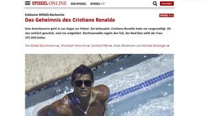 Der Spiegel reveló los documentos según los cuáles Cristiano Ronaldo habría pagado para que no se denunciara una violación