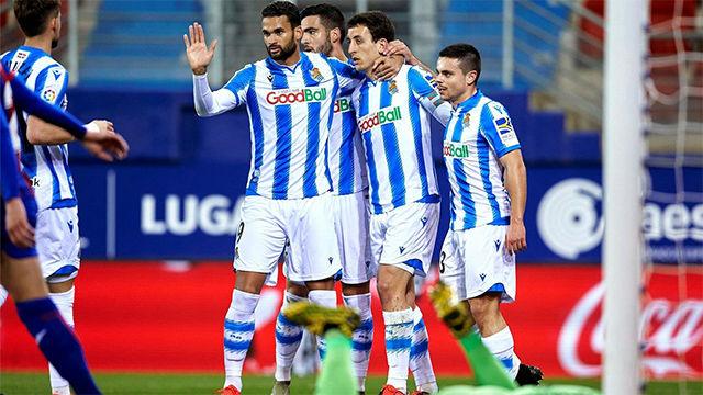 El Eibar se mete en problemas tras perder contra la Real Sociedad