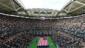 El estadio Arthur Ashe en el US Open