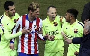 Fernando Torres mantuvo un cruce dialéctico con Neymar