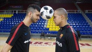 Ferrao y Esquerdinha, dos excelsos goleadores