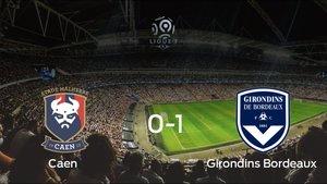 El Girondins Bordeaux derrota en el Stade Michel dOrnano al Caen (0-1)