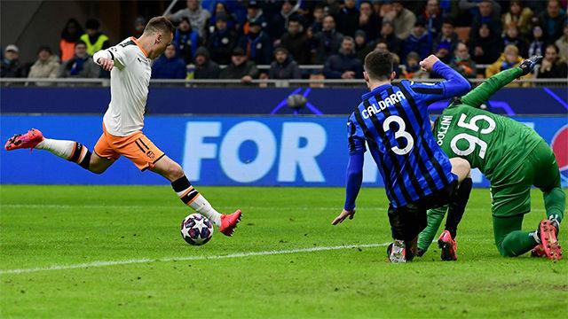El gol de Cheryshev que da esperanzas al Valencia