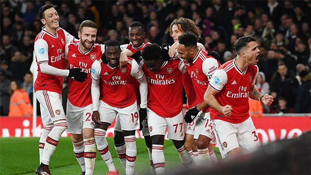 Goleada del Arsenal al Newcastle