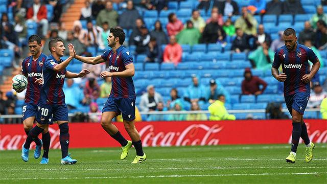 Gonzalo Melero le cogió la espalda a Carvajal y marcó de cabeza el 3-2 en el 74