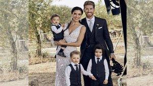 La imagen más tierna de la familia de Ramos y Rubio en su boda | Hola