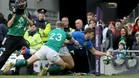 Italia ha sucumbido con claridad ante Irlanda