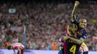 Ivan Rakitic, como Dani Alves, ganó el triplete en su primer año en el Barça