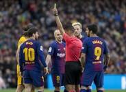 Jesús Gil Manzano es un árbitro que ha protagonizado más de una polémica en sus arbitrajes al FC Barcelona