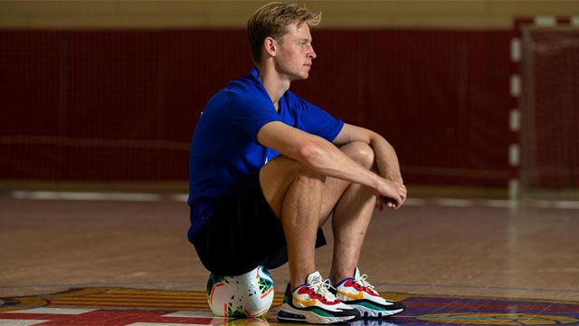 De Jong: Quiero ganar la Champions